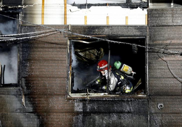 Incendiu devastator în Sapporo