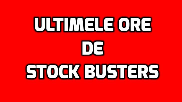 eMAG – Sunt ultimele ore, ultimele clipe si ultimele oferte de Stock Busters