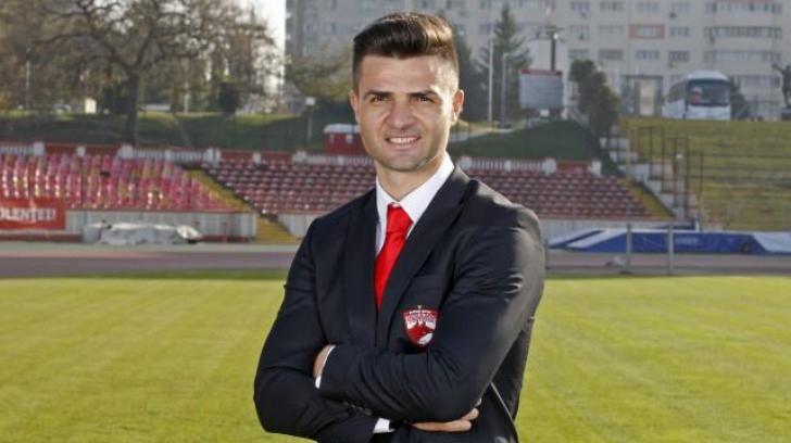 Noul antrenor al echipei Dinamo, prezentat oficial la echipă