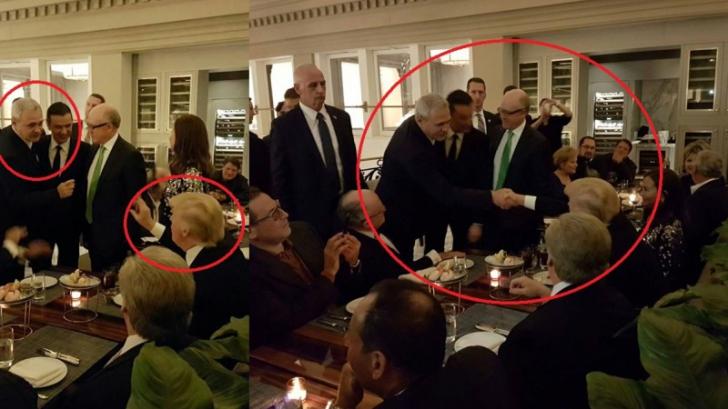 Liviu Dragnea, întâlnire cu Trump