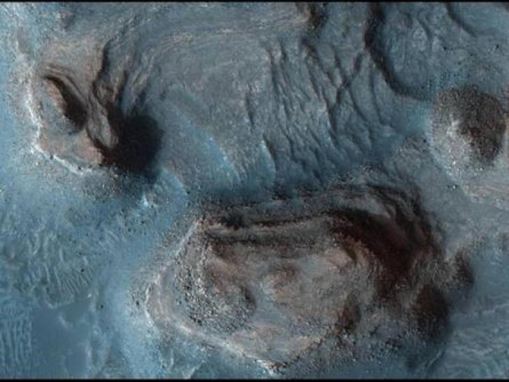 Imagini 3 D de pe planeta Marte la o rezoluție de înaltă calitate