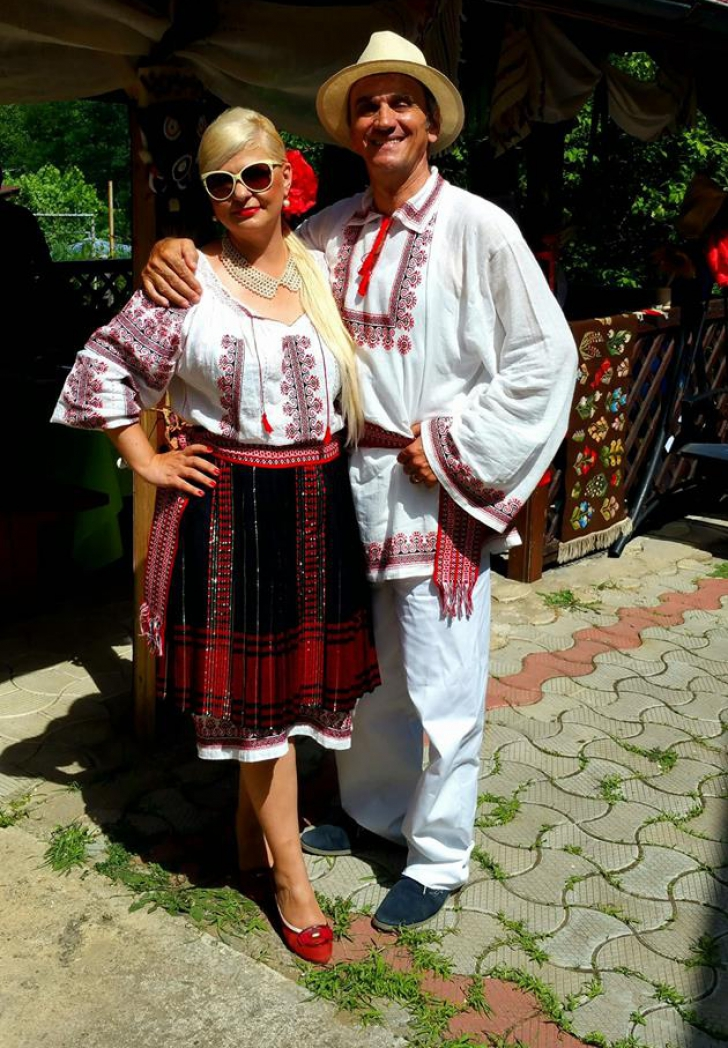 Graţiela Drăghici, surpriză foto de Dragobete