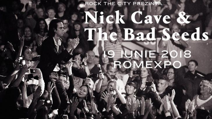 Concert-eveniment: Nick Cave & The Bad Seeeds, pentru prima dată în România