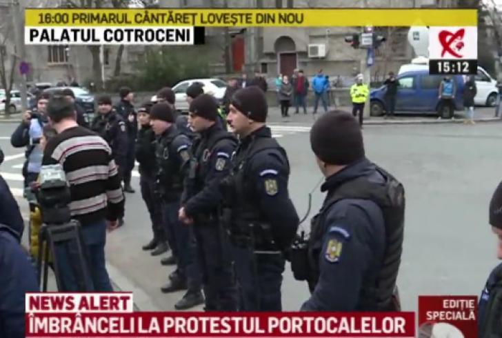 """Protest la Palatul Cotroceni, sâmbătă, împotriva """"portocalelor toxice"""" de Ploieşti"""