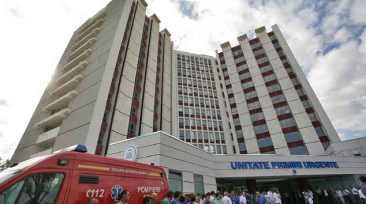 Incendiu, luni seara, la Spitalul Universitar din Capitală