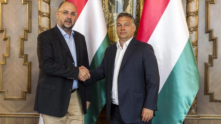 Viktor Orban și șeful UDMR, Kelemen Hunor