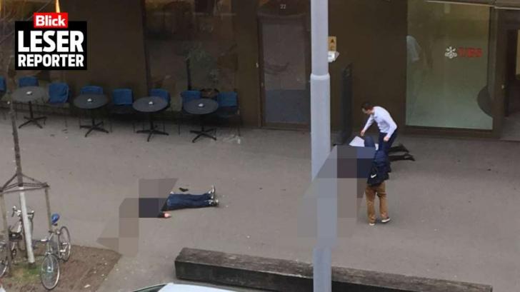Incident armat în centrul oraşului Zurich: cel puţin DOI MORŢI