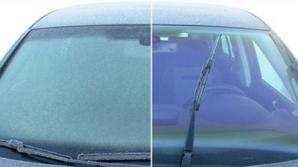 Cum dezgheţi rapid parbrizul maşinii. Toţi şoferii trebuie să ştie acest truc