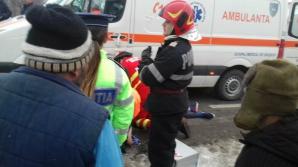 Accident grav în Gorj