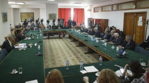 Doar senatorii Opoziției au fost prezenți la întâlnirea cu guvernatorul BNR