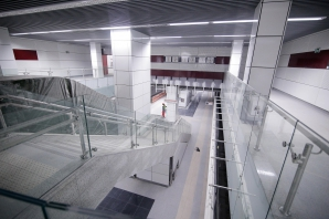 Metroul Drumul Taberei (stadiu - martie 2018)