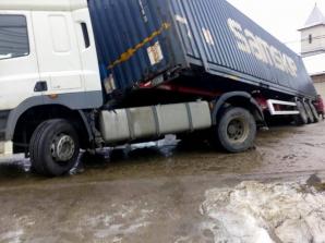 Accident cu TIR