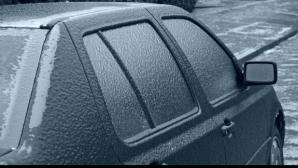 Ploaia inghetata in Bucuresti