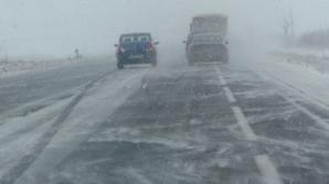 Alertă pe A2. Pericol de accidente din cauza ploii îngheţate