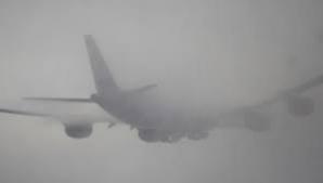 Un avion care trebuia să aterizeze la Bacău, redirecţionat din cauza ceţii
