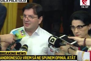 Nicu Bănicioiu și Ecaterina Andronescu
