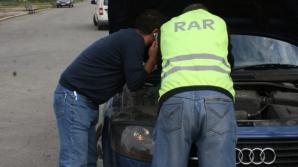 Mașini oprite în trafic pentru inspecția RAR