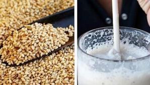 Cura cu lapte de susan pentru sănătatea oaselor, unghiilor şi a părului