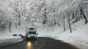 Starea drumurilor: Toate drumurile naţionale sunt deschise