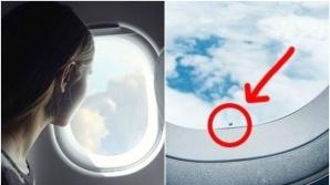 De ce au toate geamurile de avion gaura asta mică