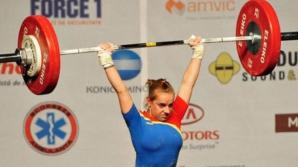 Loredana Toma a câştigat trei medalii de aur la Campionatelor Europene de haltere