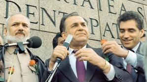 Ion Iliescu, principalul acuzat în dosarul Mineriadei