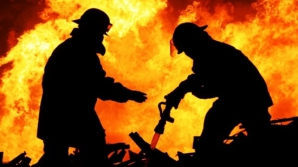 Incendiu la Termocentrala Turceni, cu degajări mari de fum