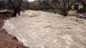 Cod galben de inundaţii pentru 11 judeţe