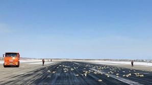 Un avion cu aur, platină şi diamante a început să piardă din încărcătură după decolare. Ce a urmat?