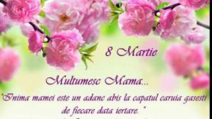 Mesaje şi felicitări de 8 Martie pentru mame