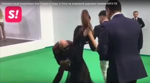 Scene fierbinți cu vedete din Rusia