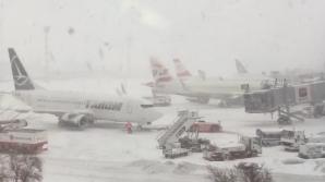 Mai multe curse anulate pe aeroportul Otopeni. Situaţia tuturor zborurilor în timp real