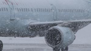 Întârzieri pe aeroportul Otopeni din cauza vremii. Informaţii în timp real