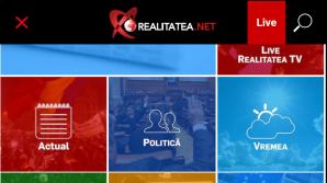 Încearcă o nouă experienţă media cu Realitatea.net