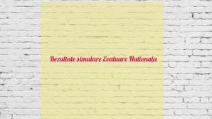Rezultate simulare Evaluare Națională 2018