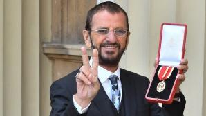 Ringo Starr, învestit cavaler în cadrul unei ceremonii de la Palatul Buckingham