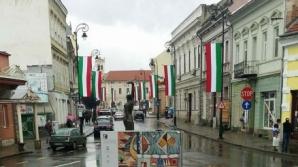 Steaguri în Sf. Gheorghe