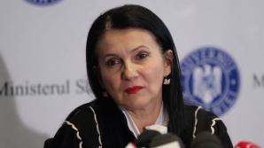 Ministrul Sănătăţii, Sorina Pintea