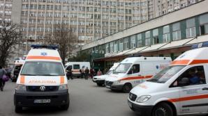 Bătaie la spital - o tânără a fost agresată de agenţii de pază ai Spitalului Judeţean Craiova