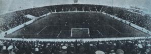Stadionul Steaua dupa inaugurare (1974)