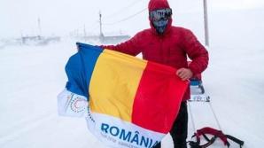 Câştigătorul maratonului Arctic Ultra 6633, Tiberiu Uşeriu, s-a întors în țară