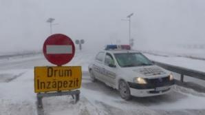 Circulaţie îngreunată din cauza poleiului în Covasna, unde au avut loc mai multe accidente