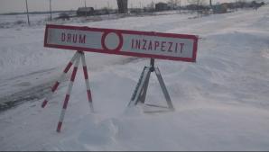 ALERTĂ METEO. Codul PORTOCALIU de ger şi ninsori consistente a fost PRELUNGIT. HARTA la zi