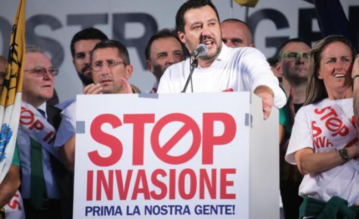 Matteo Salvini, șeful Ligii