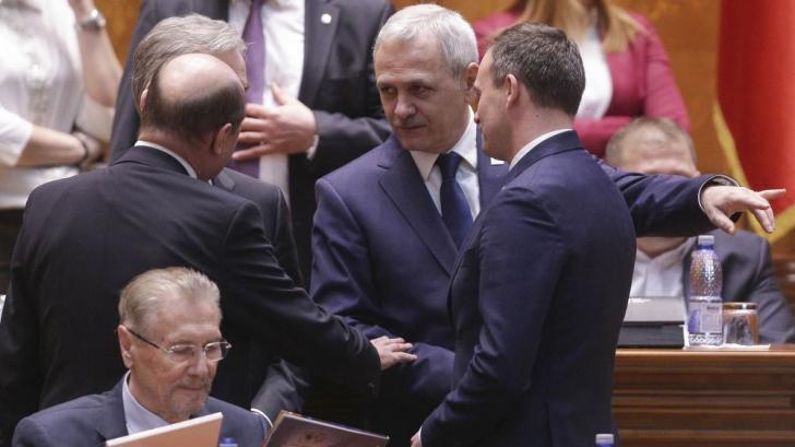 Liviu Dragnea, în Parlament