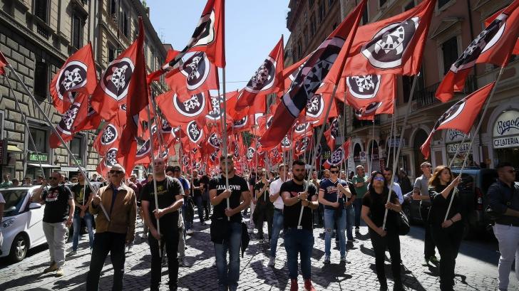 Fasciștii italieni au prins aripi