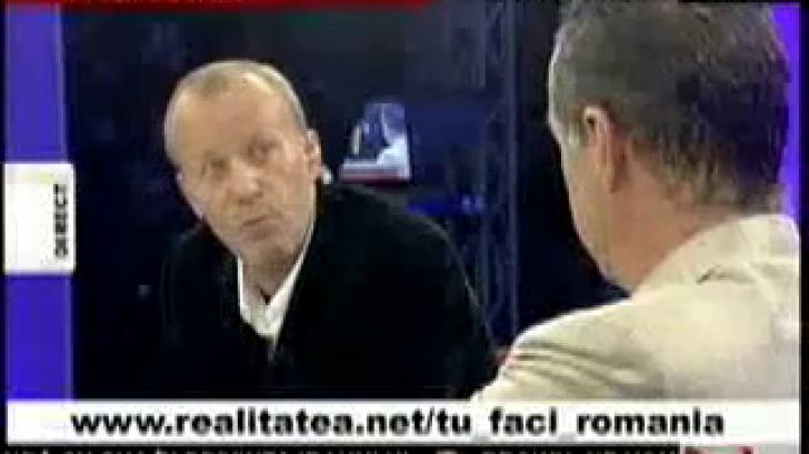 Andrei Gheorghe, singurul jurnalist care l-a făcut pe Gigi Becali să tacă. La Realitatea TV, în 2007