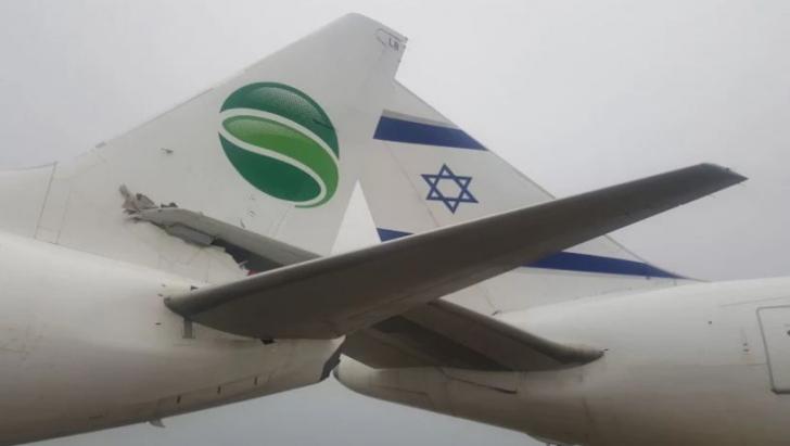 Două avioane s-au ciocnit pe un aeroport în Israel