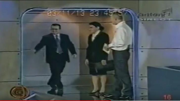 Moment antologic în emisiunea lui Andrei Gheorghe: Emil Boc a căzut de la câțiva metri (VIDEO)