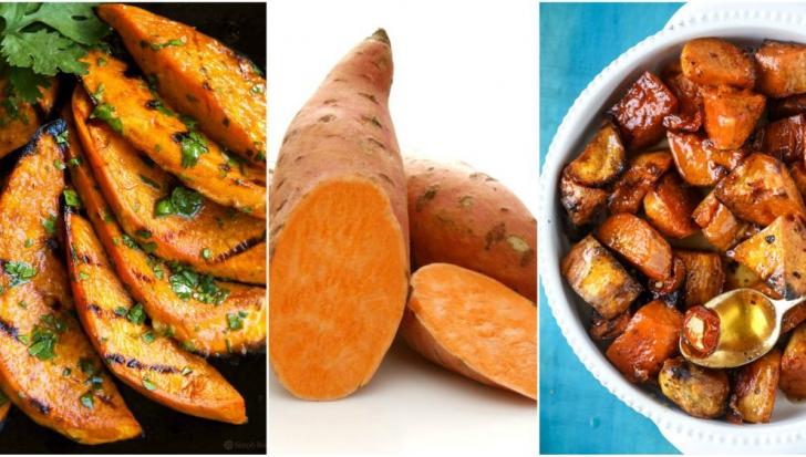 Cartofii dulci se găsesc şi în supermaketurile de la noi. Cât de sănătoşi sunt şi cum se prepară